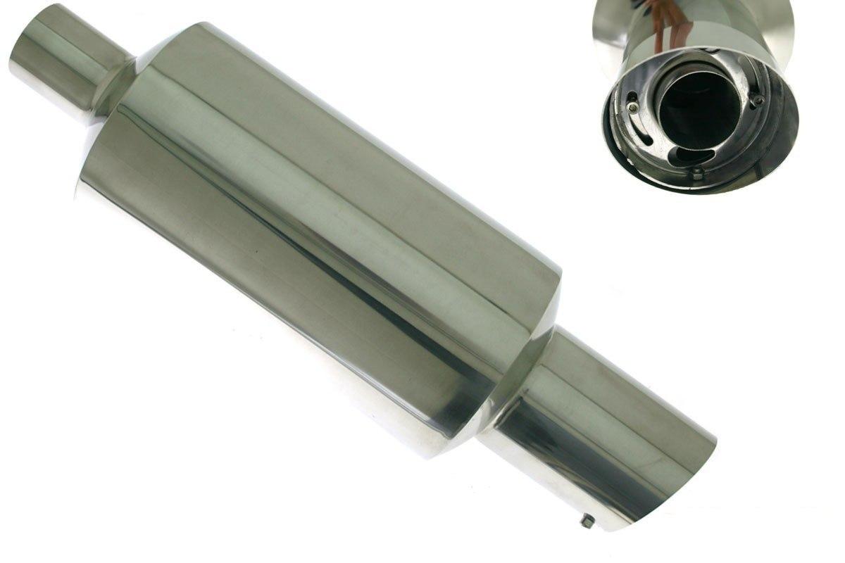 Tłumik Końcowy TurboWorks 105mm wejście 63,5mm - GRUBYGARAGE - Sklep Tuningowy